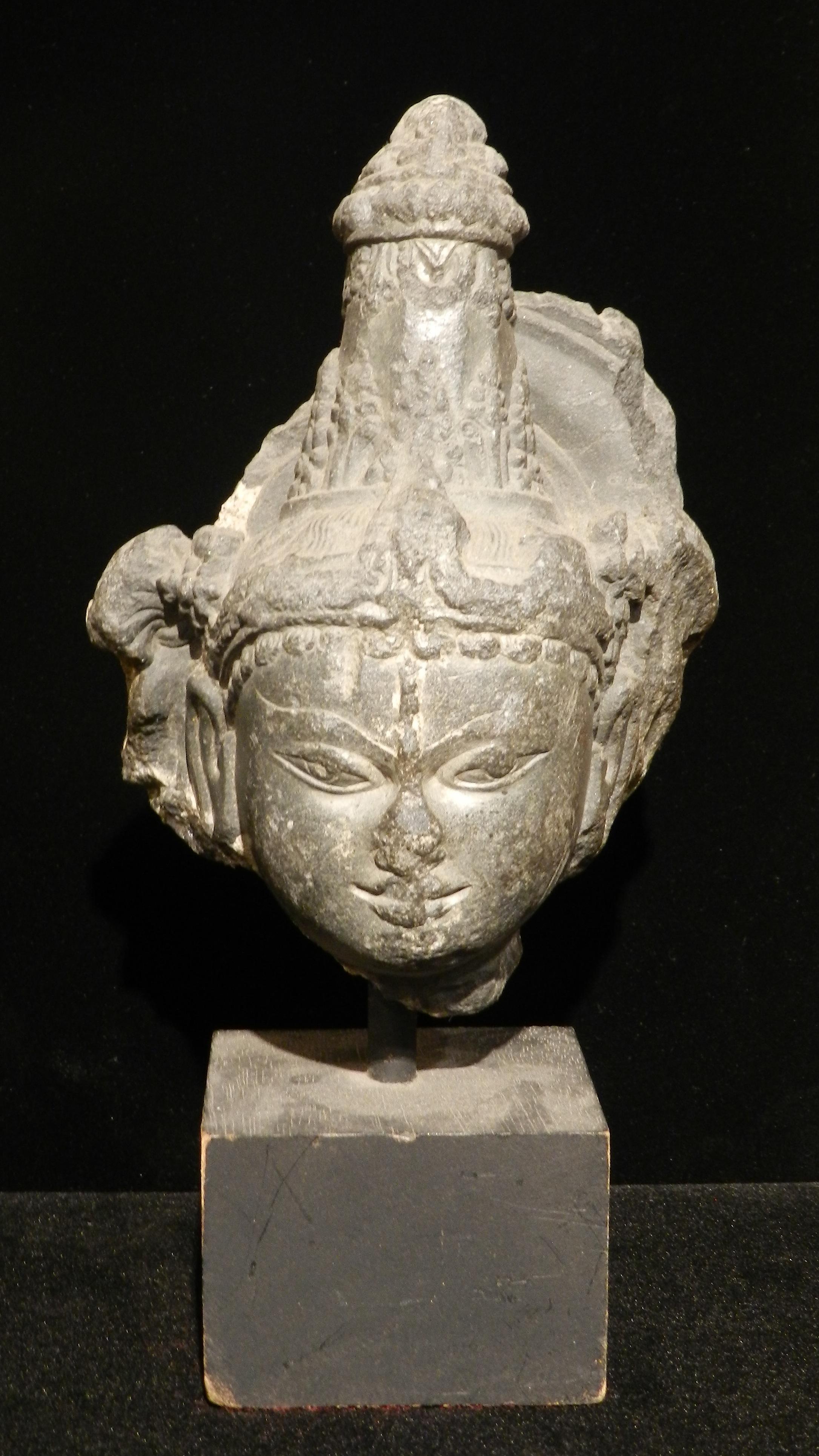 Stone Head of Vishnu