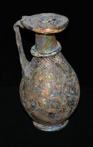 Antique Roman Glass Vessel