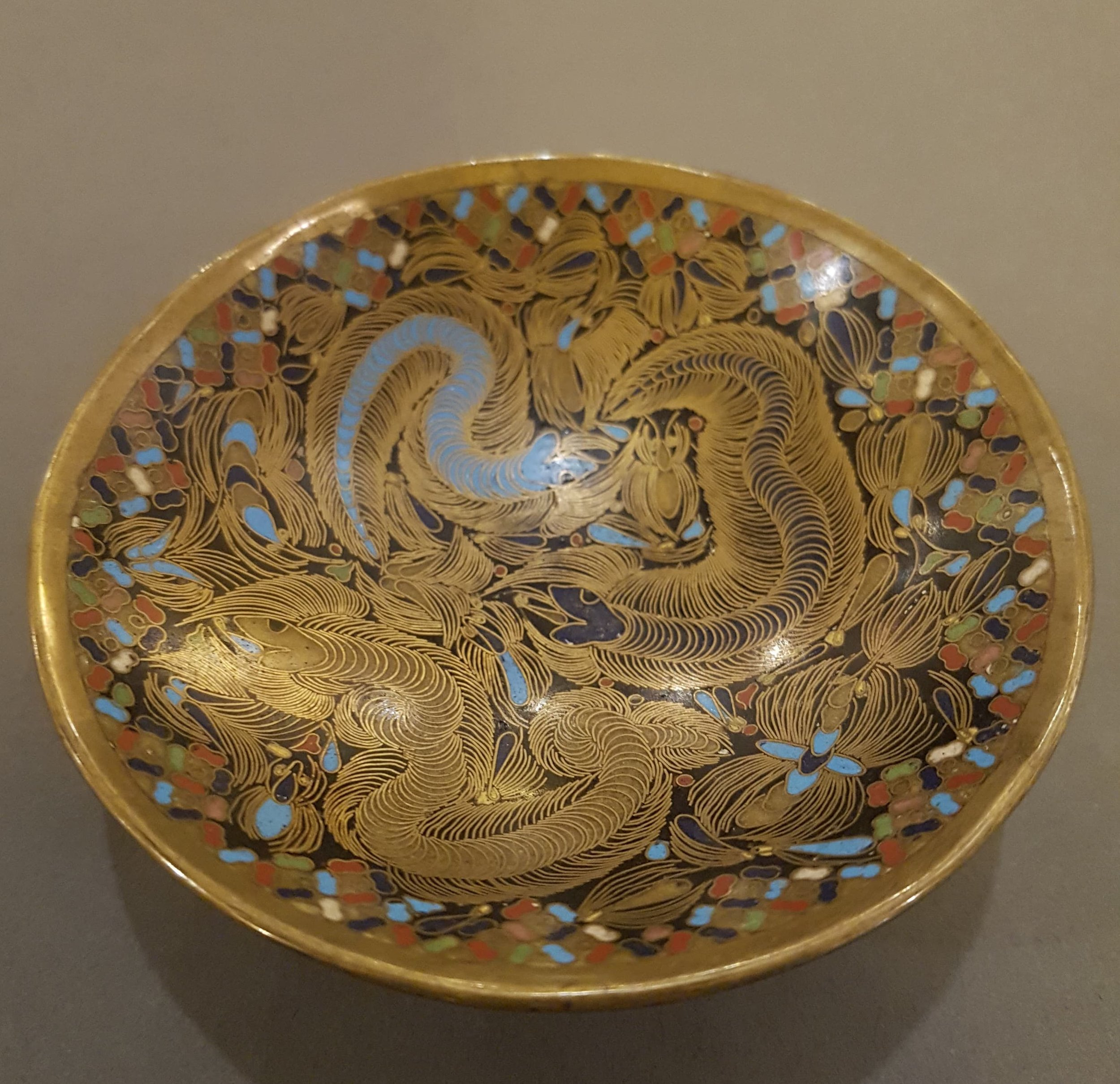 Japanese cloisonne  cup