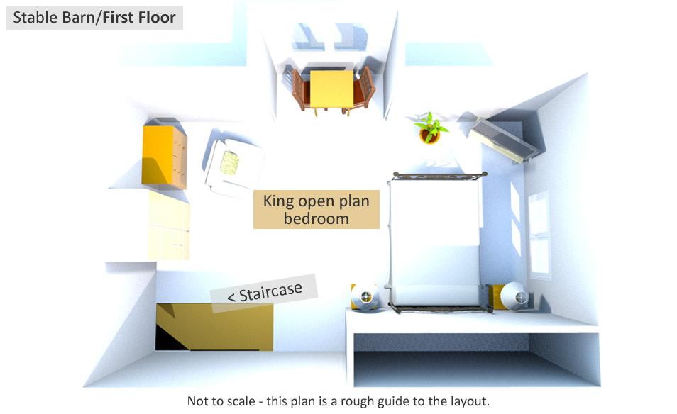 Dreamcatcher - First Floor Plan