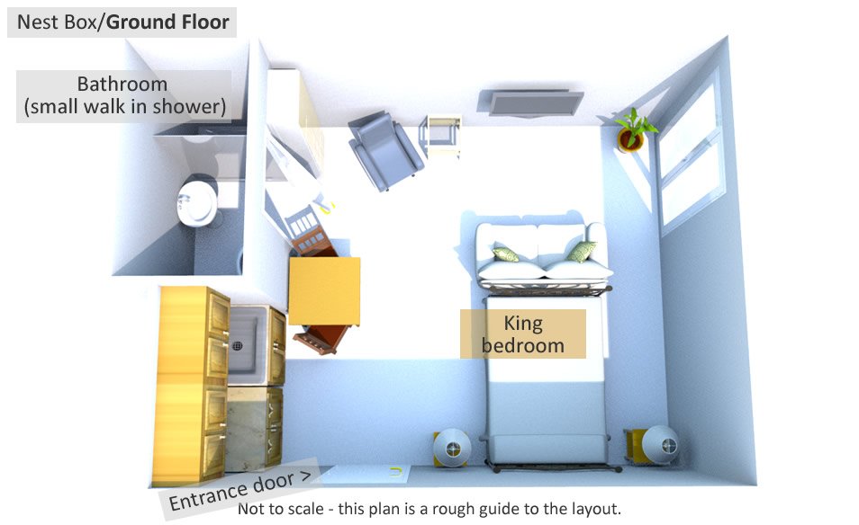 Nest Box - Ground Floor Plan
