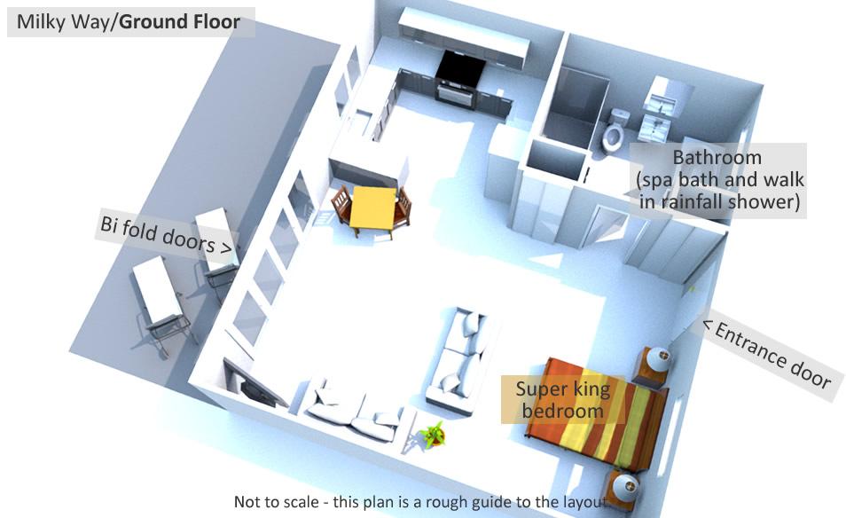 Milky Way - Ground Floor Plan