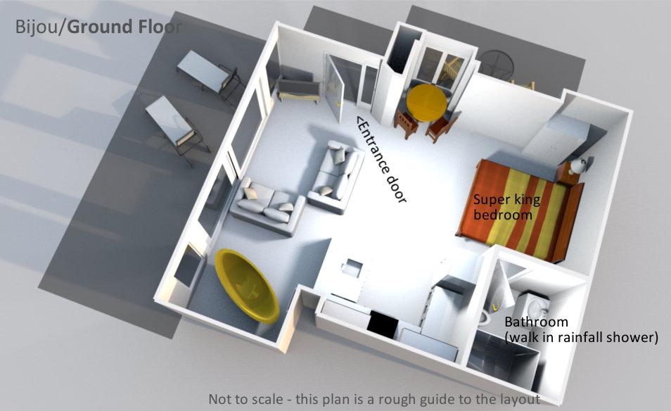 Bijou - Ground Floor Plan