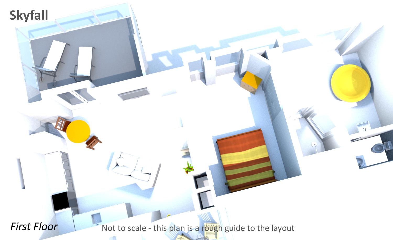 Skyfall - First Floor Plan