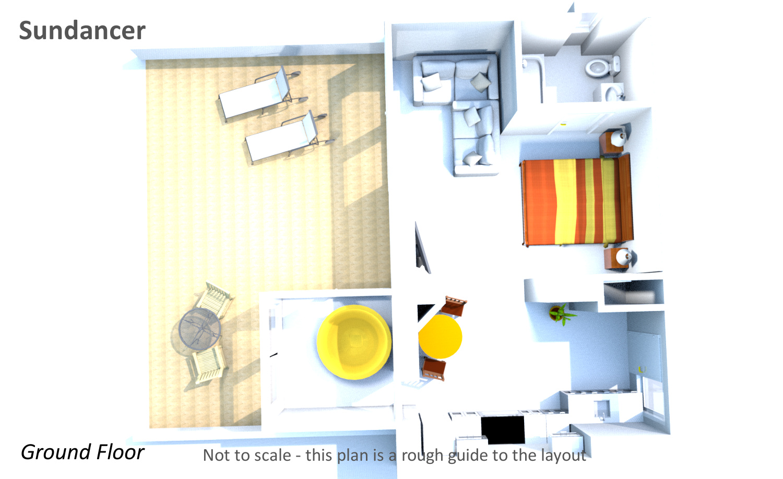 Sundancer - Ground Floor Plan