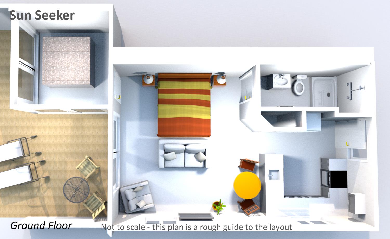 Sun Seeker - Ground Floor Plan