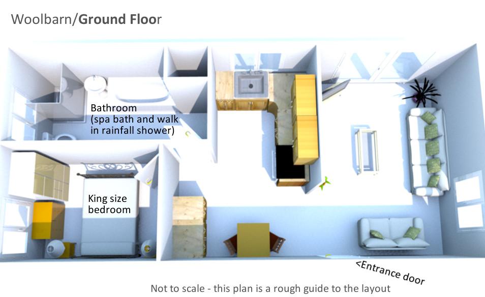 Woolbarn - Ground Floor Plan