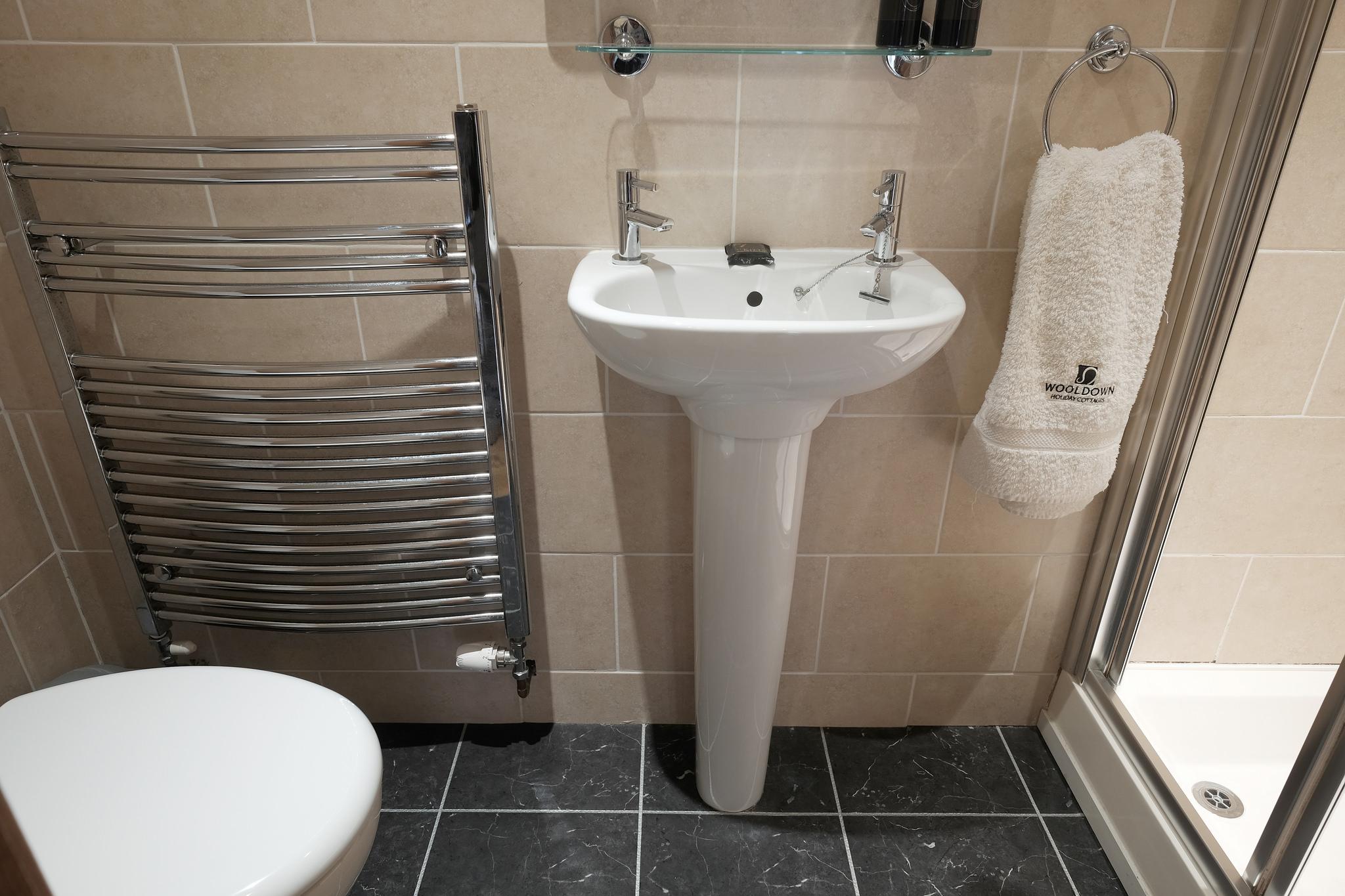 Bedsit with en-suite shower room