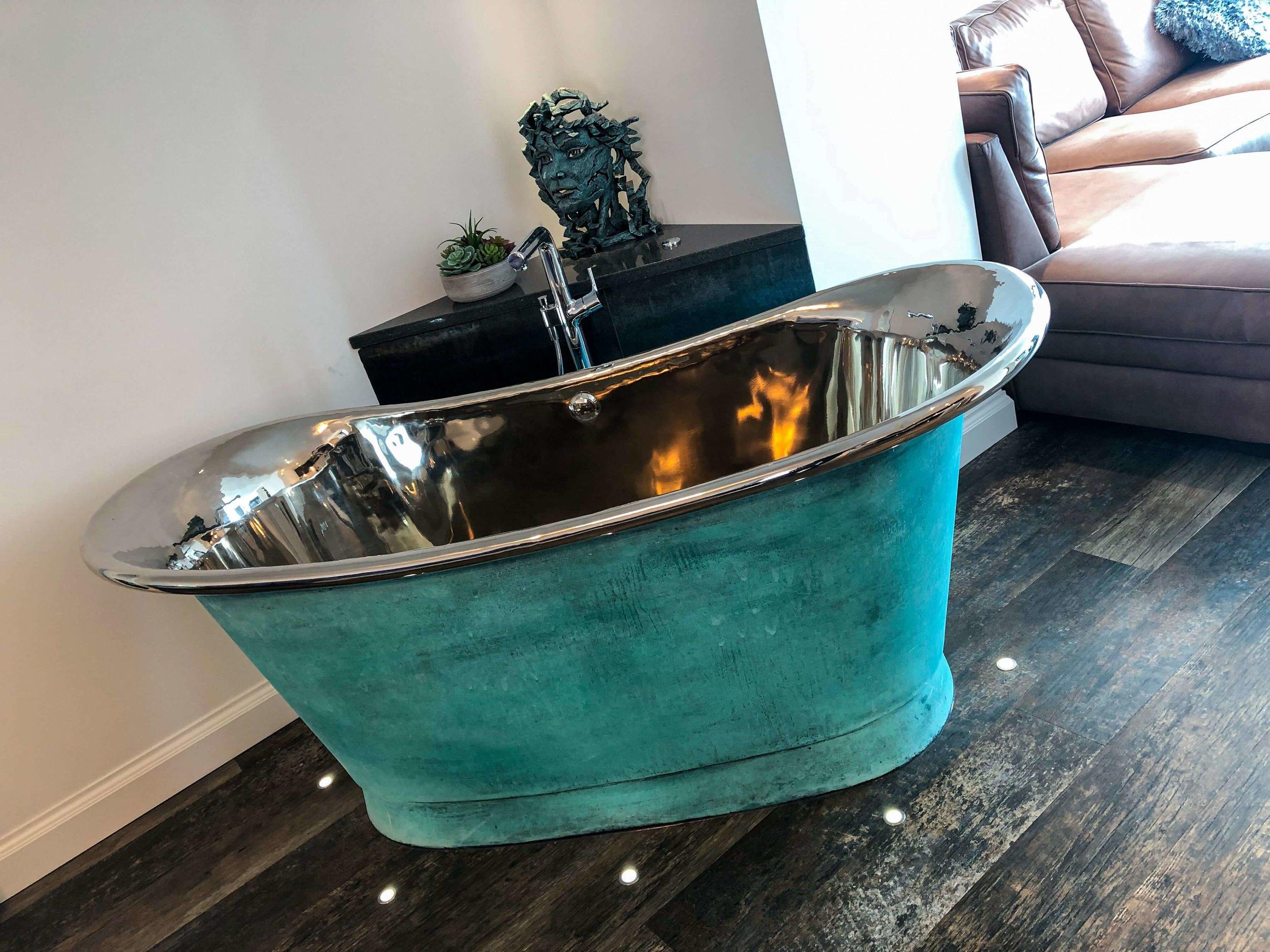 Bateau air-spa bath