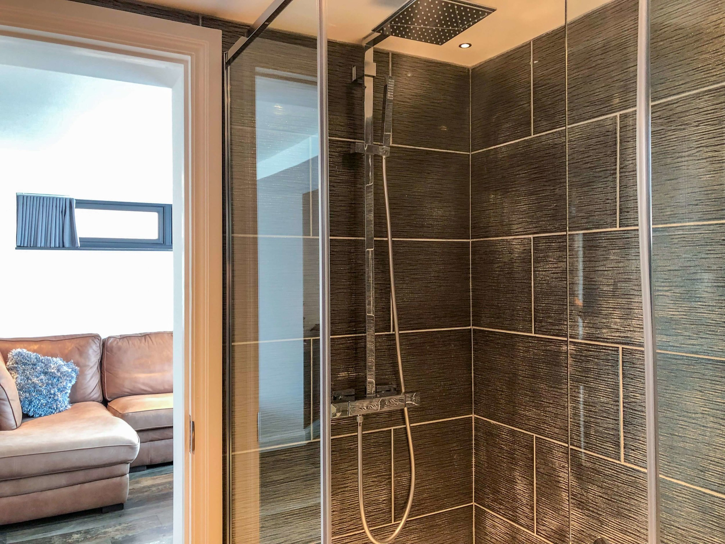 Shower room in Silver Sea apartment for two
