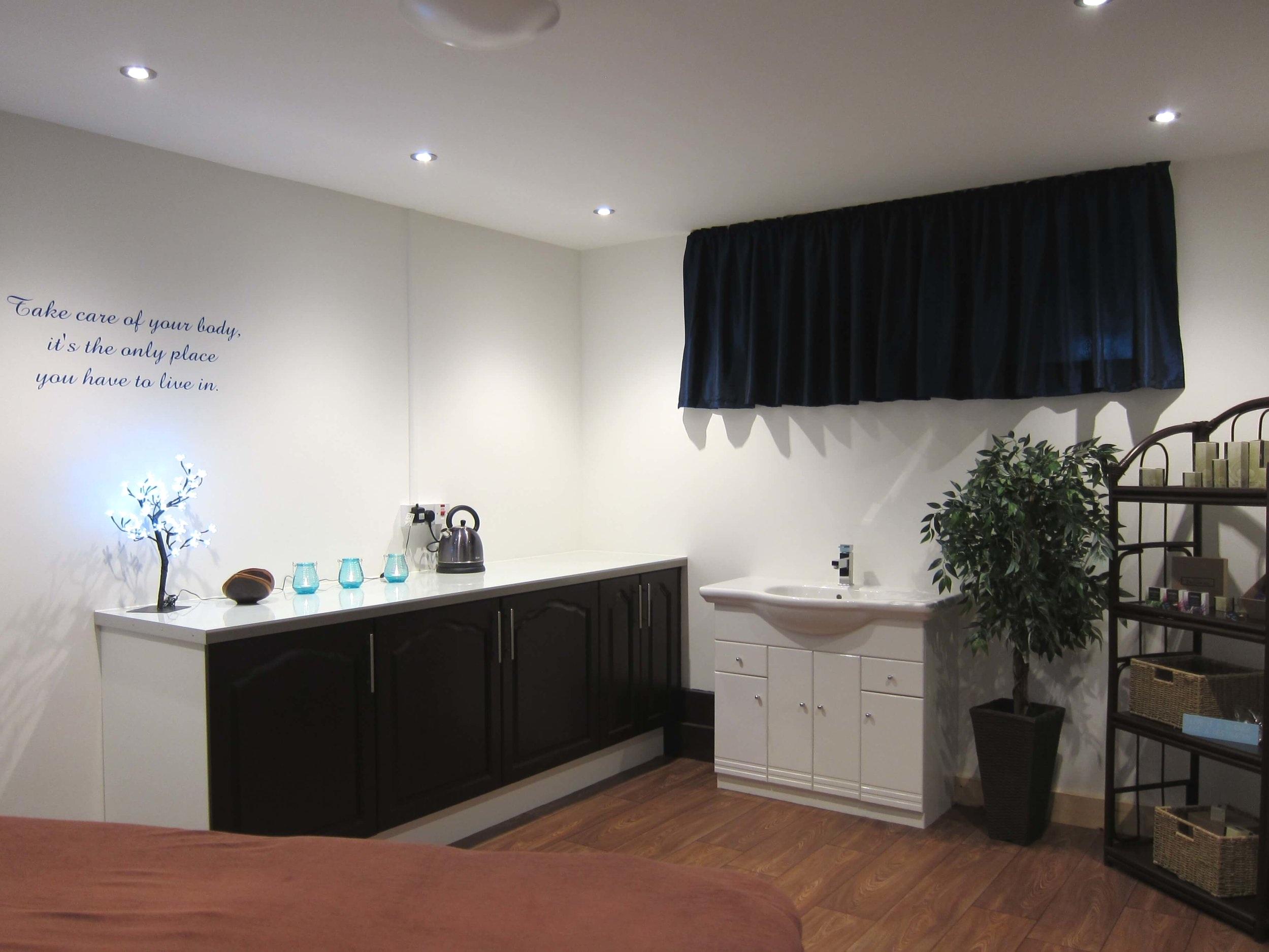 Our Pamper Room -