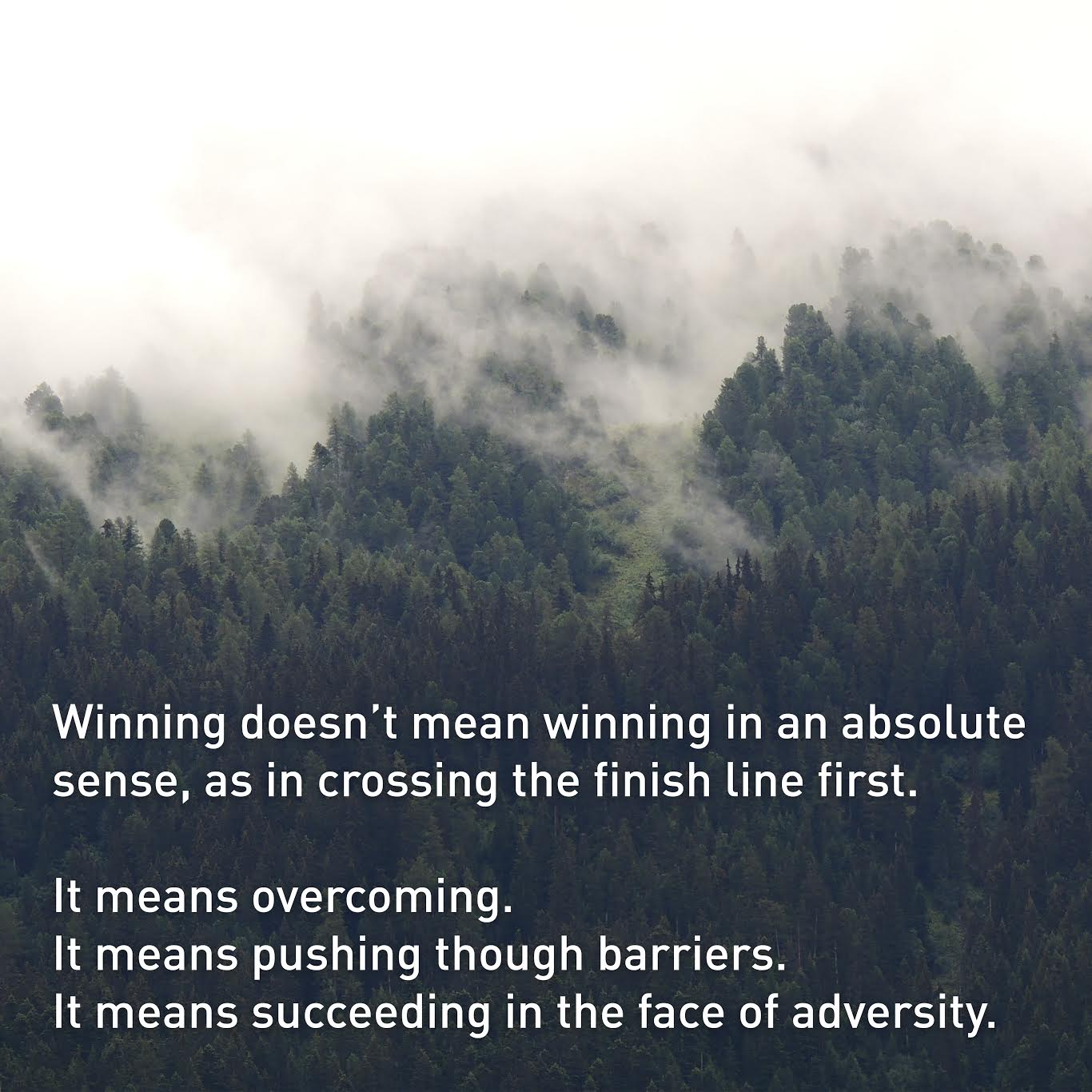 James H. Osborne The Meaning of Winning
