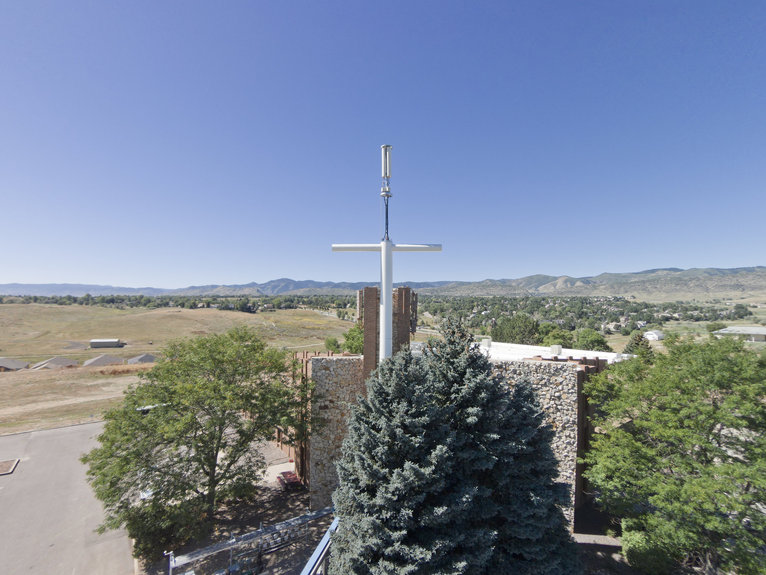 CRUCIFIX CELL TOWER