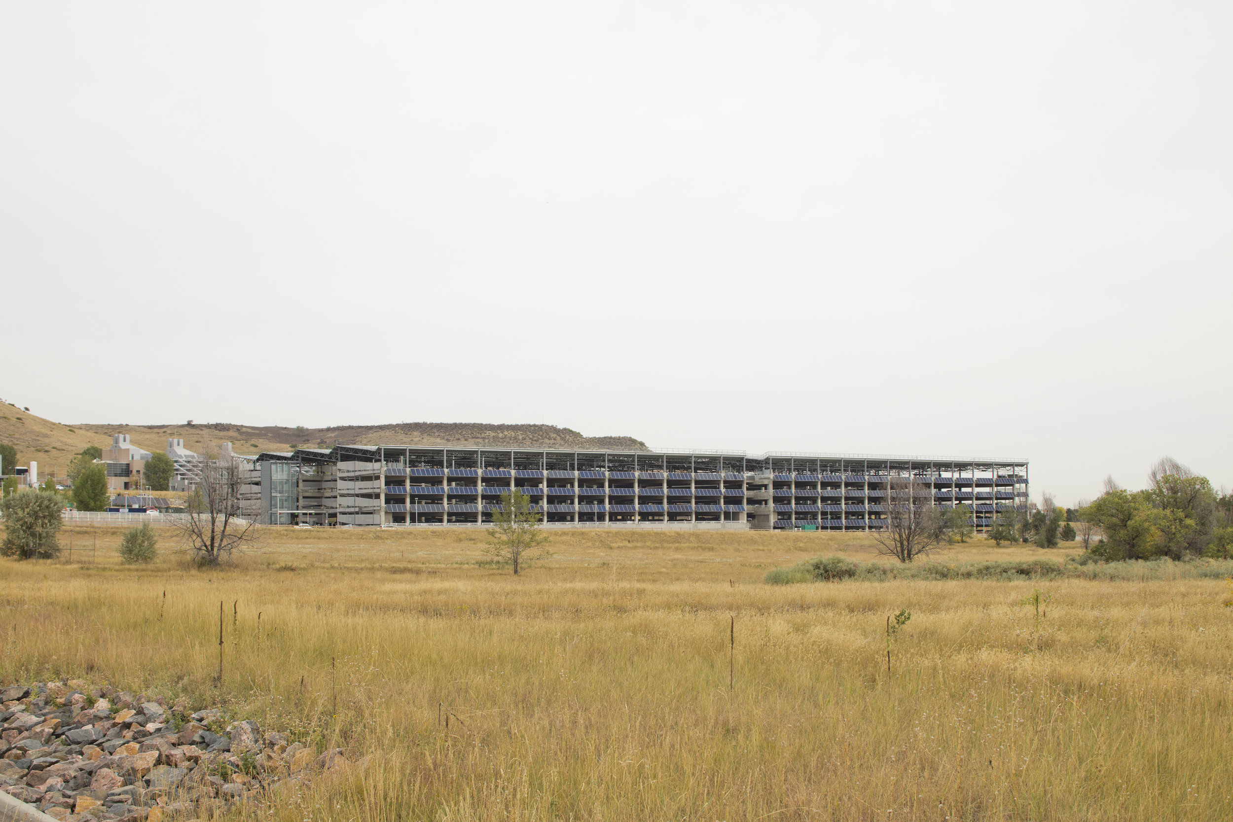 1,800 CAR PARKING GARAGE, NATIONAL RENEWABLE ENERGY RESOURCES LABORATORY