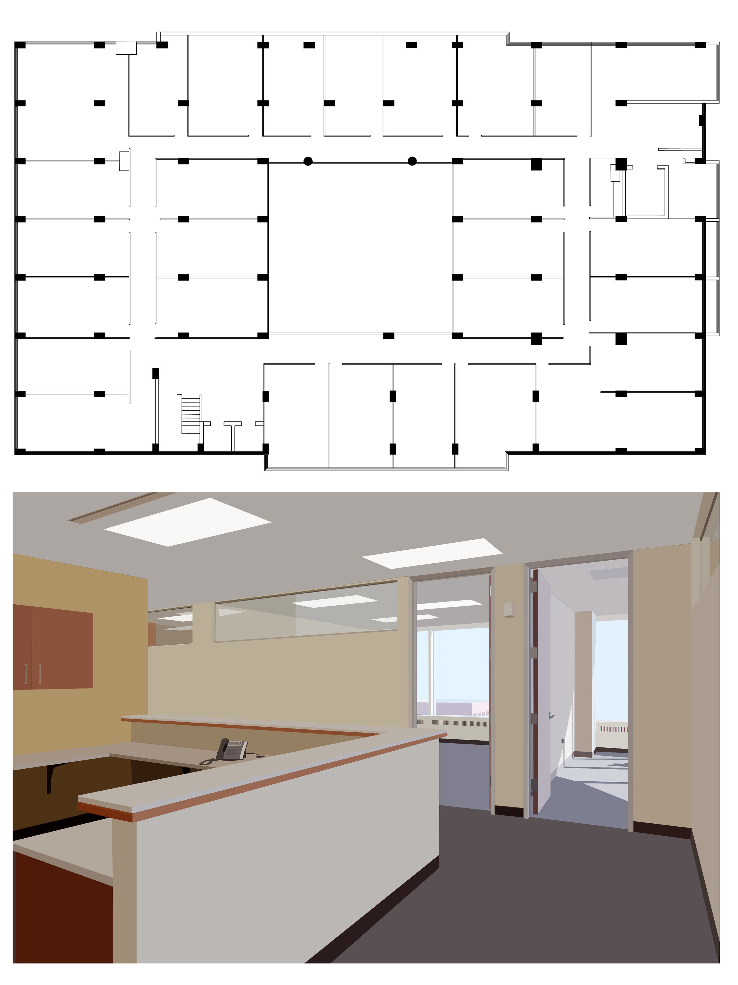 VACANT HIGH-RISE OFFICE SPACE