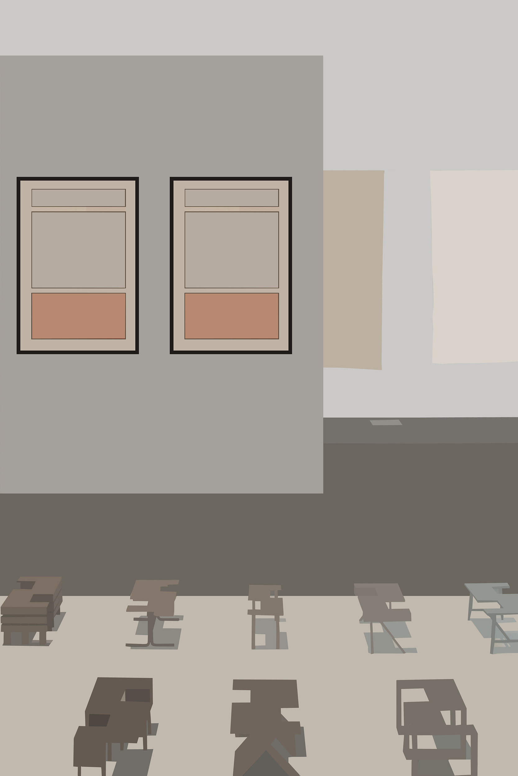 ART EXHIBIT, CONTEMPORARY ART MUSEUM