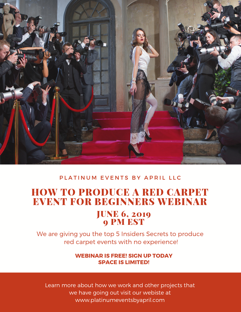 How to produce a red carpet event for beginners revised. 5.27.png