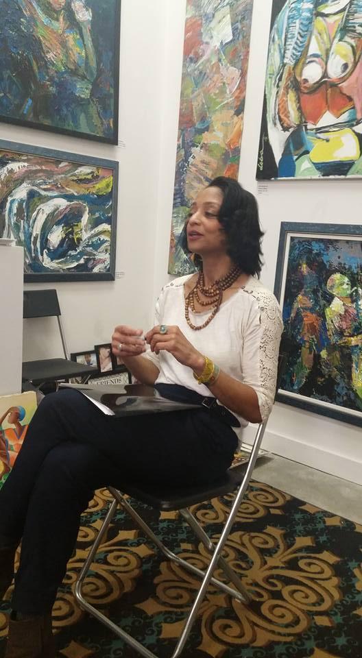 Stephanie Renee Payne  ,  Keynote Speaker at the   Women Writers of the Diaspora Writers Series  , Harlem, NY