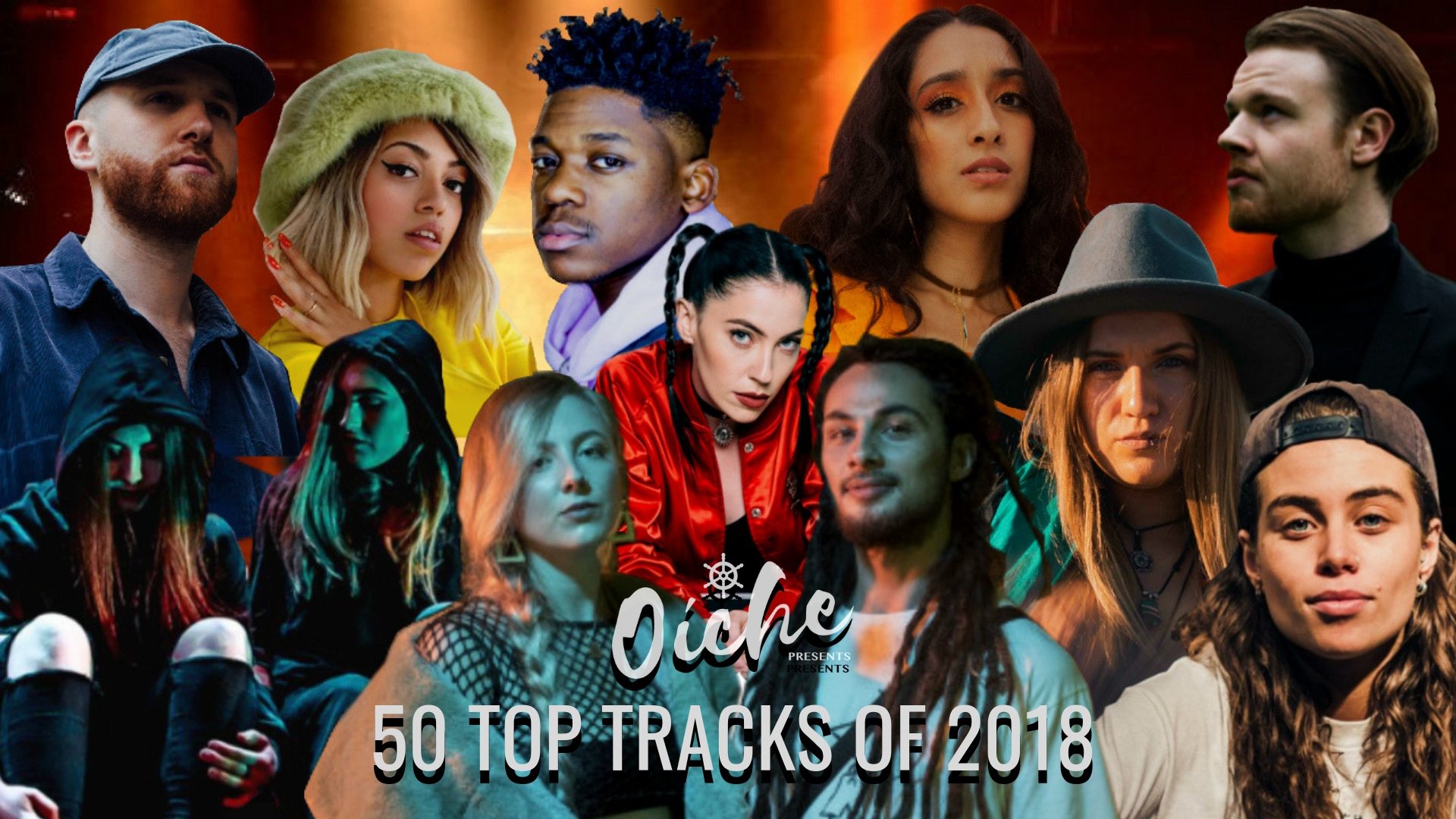 Top 50 Tracks of 2018 Oíche Events