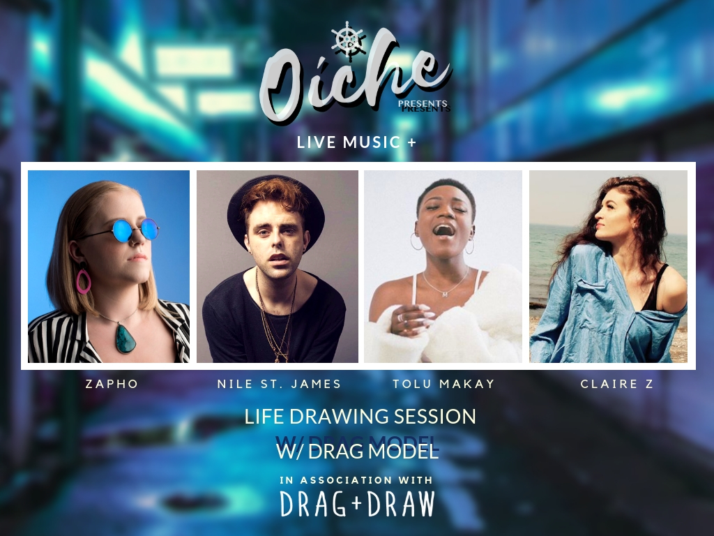 Oíche Events, Drag and Draw Tickets