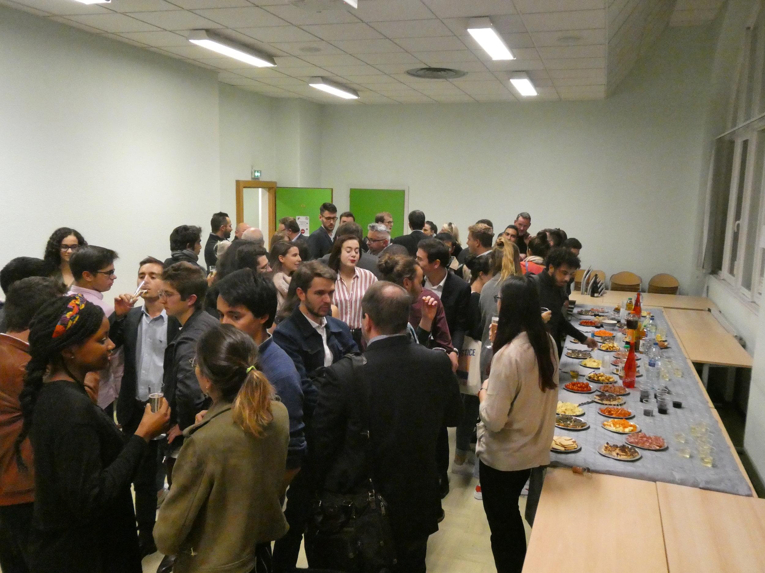 """AFTERWORK """"Entreprendre en Alsace"""" - Sciences Po Strasbourg Consulting était heureux de vous convier à son afterwork sur le thème """"Entreprendre en Alsace""""."""