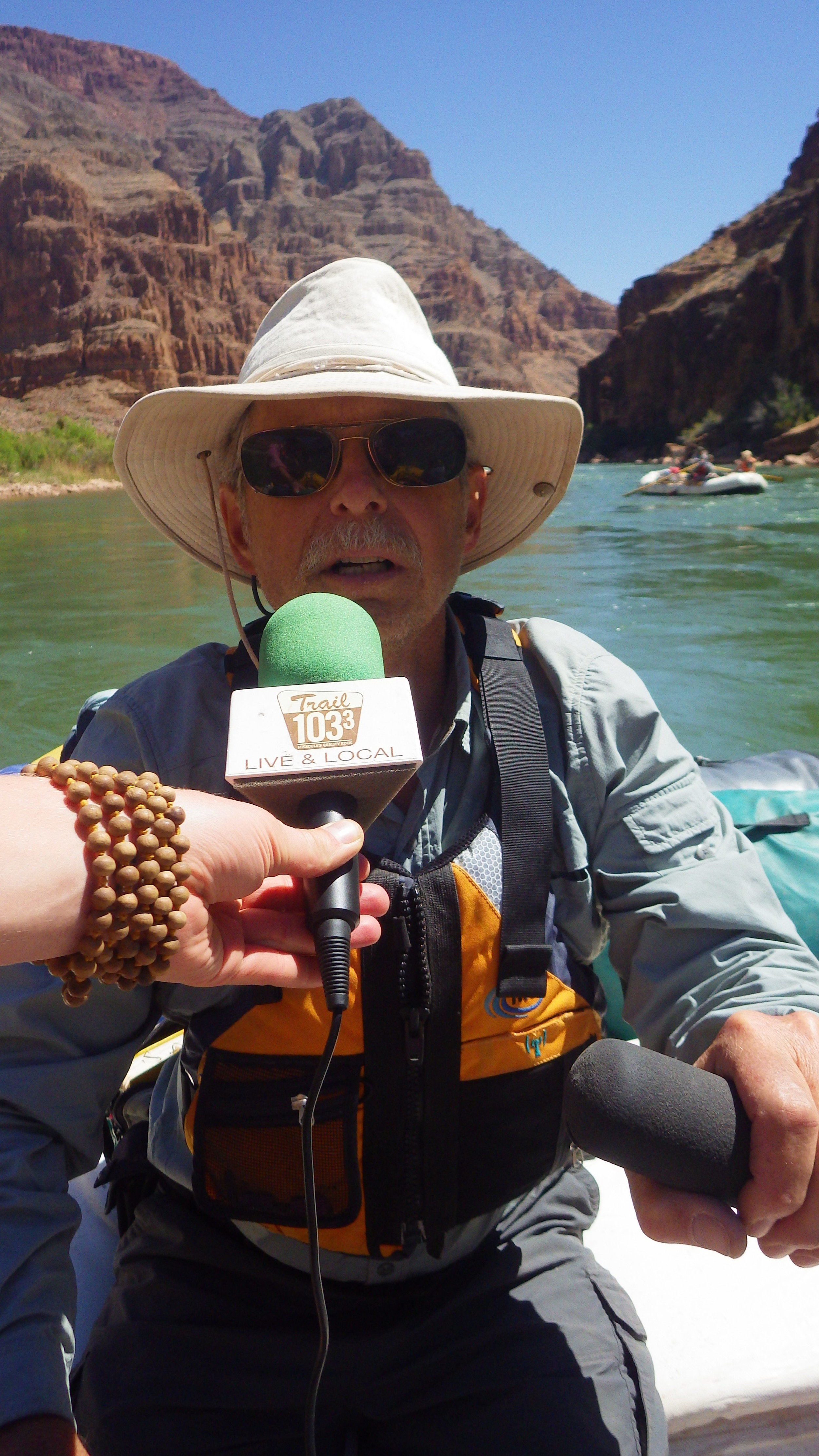 Interviewing with Dr. Larry Stevens about Biodiversity in The Grand Canyon pre & post Glen Canyon Dam. History of the proposed & implemented Dam sites in The Grand Canyon...plus an inside look at the anatomy of Glen Canyon Dan in  cluding its faults.
