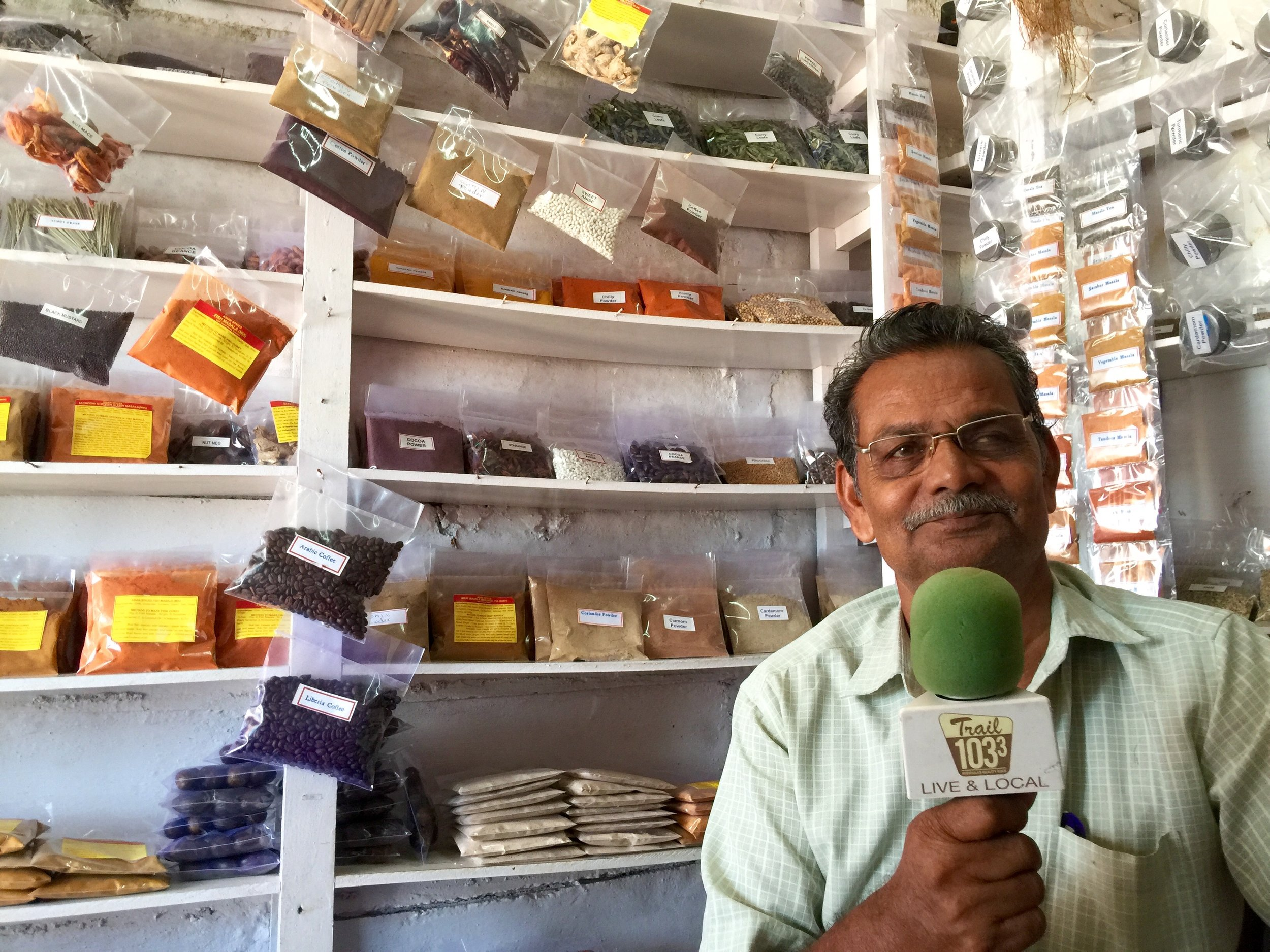 Interviewing Joseph Vattapili, a third generation farmer who grows cardamom, cumin, turmeric, nutmeg, cinnamon, pepper, anise, cocoa & other spices in Southwestern India.