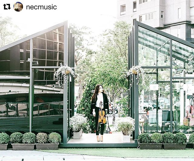 "#Repost @necmusic ・・・ Good morning! Meet Rayna Chou, aka @musictraveler_ig—she'll be taking over the NEC instagram feed today! Rayna won an EM Grant for her social experimental exhibition ""Music, Distance, and one minute of just us"", which attracted 3,000 visitors in Taichung City, Taiwan in December. ••• TONIGHT at 6pm she's presenting at NEC [link in bio] about how, why, and what happened—Do you wonder what happened in the glass rooms, where a musician played one minute of music for a stranger, and others played the very first note of their lives? What is EM, and how did Rayna's EM grant help make vision into reality? ••• Follow Rayna's #NEC🎶takeover today to find out! ••• #IGtakeover  #happypatriotsday #happymarathonmonday #bosarts #taiwan #taichungcity #necmusic #buildsomethingEM #entrepreneurialmusicNEC #EMgrants"