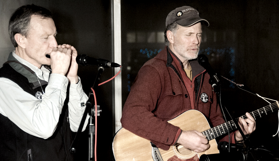 Jay Speakman and Jon Broderick,  FisherPoet Music