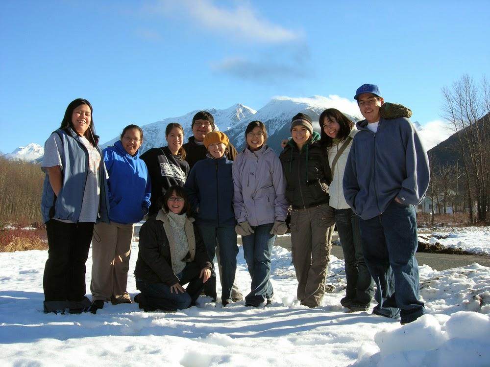 From left to right: Ernie, Sam, Tara, Jack, Tracy, Elisa, Banchi, Catrina & Jerret. Below: Lisa g