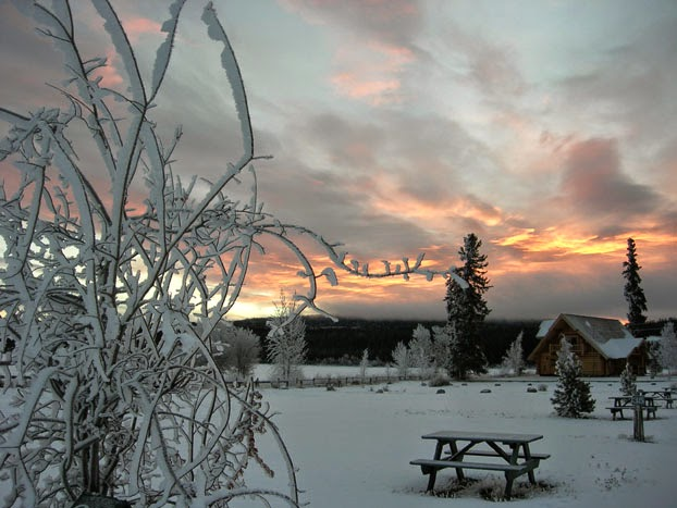 A wonderful sunset