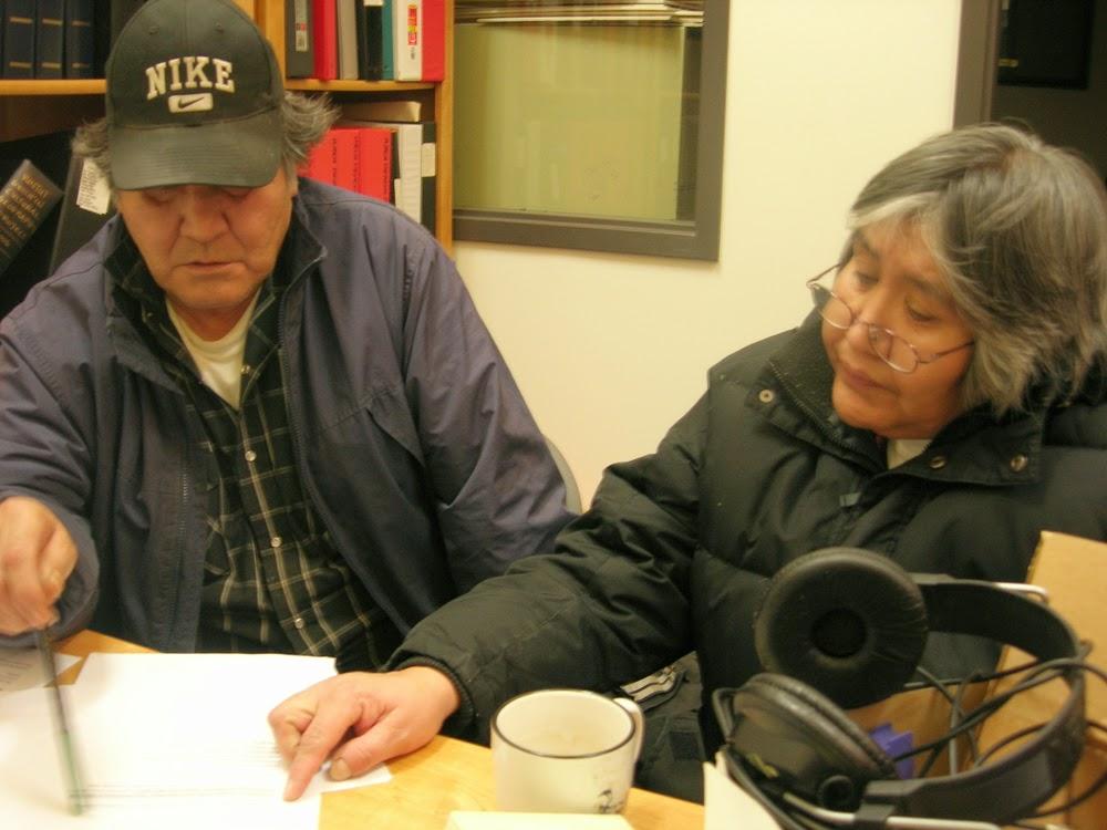 Jane and Joel also work together on translation