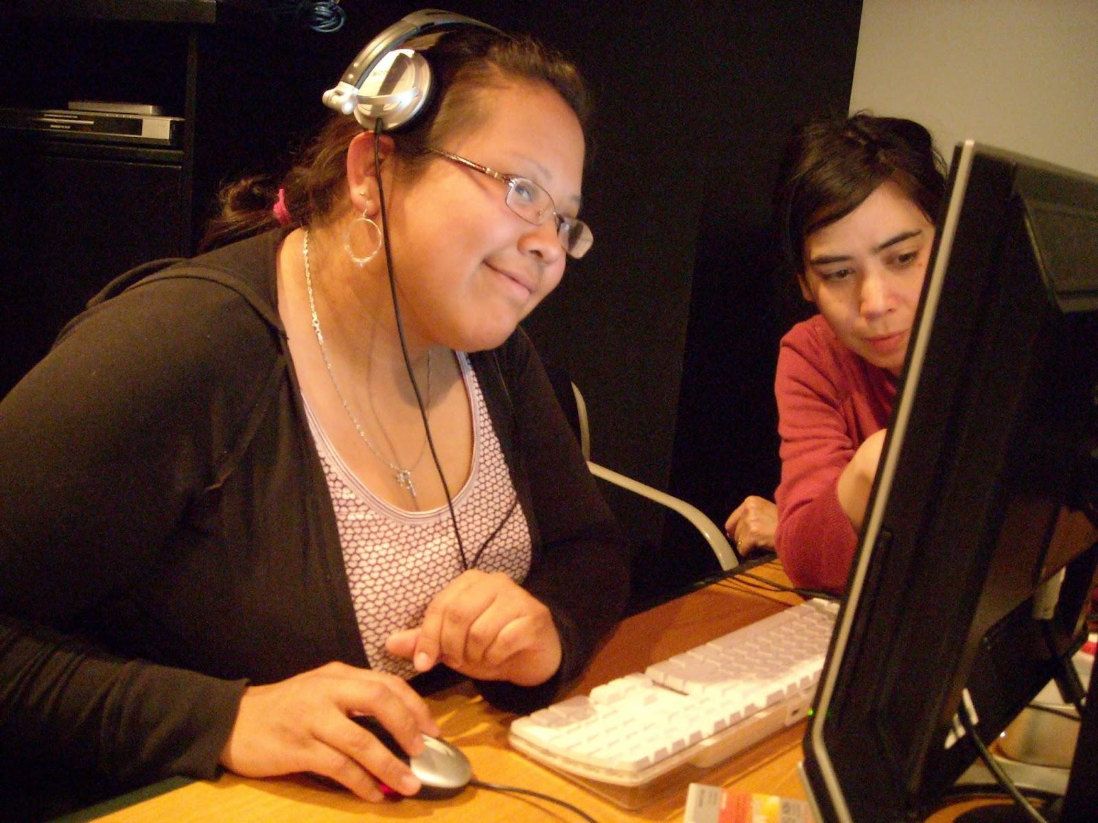 Samantha editing Happy Boy