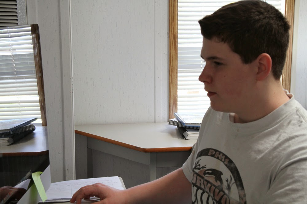 Mikey learns the editing program final cut pro