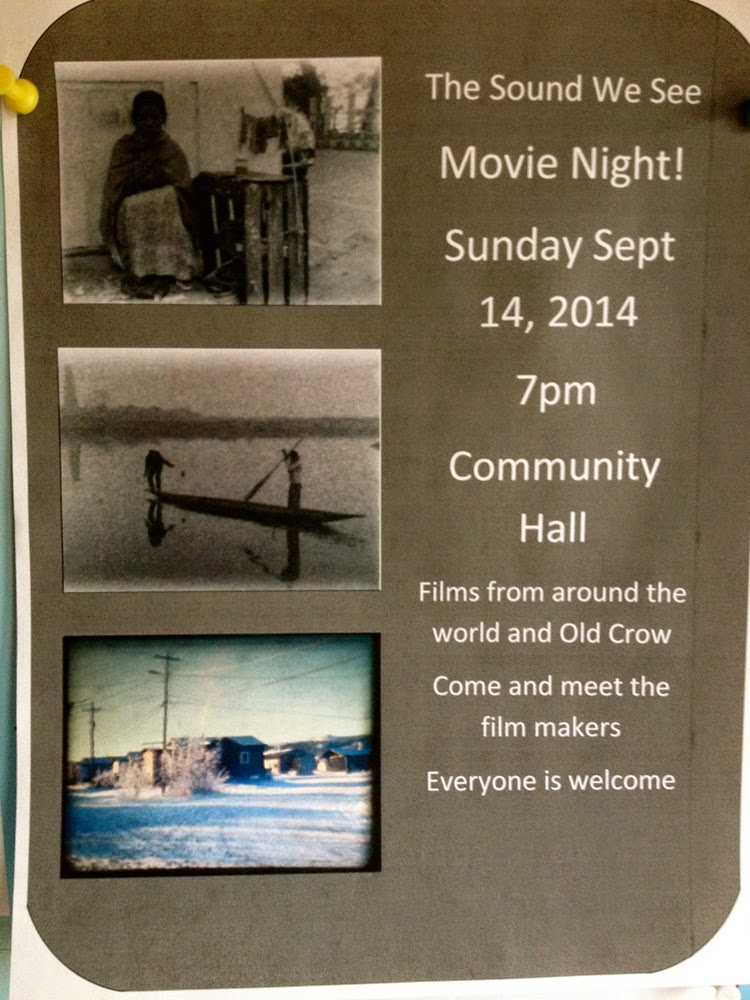 The first night we hold a movie night and workshop orientation!
