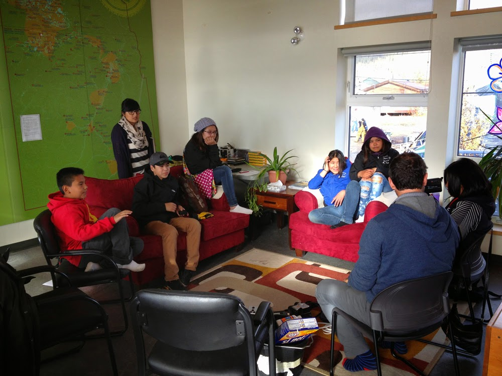 From left to right: Kohn,Teacher Ms Sharma, Arron, Candace, Madison,Jocelyn,Percilla and Paolo.