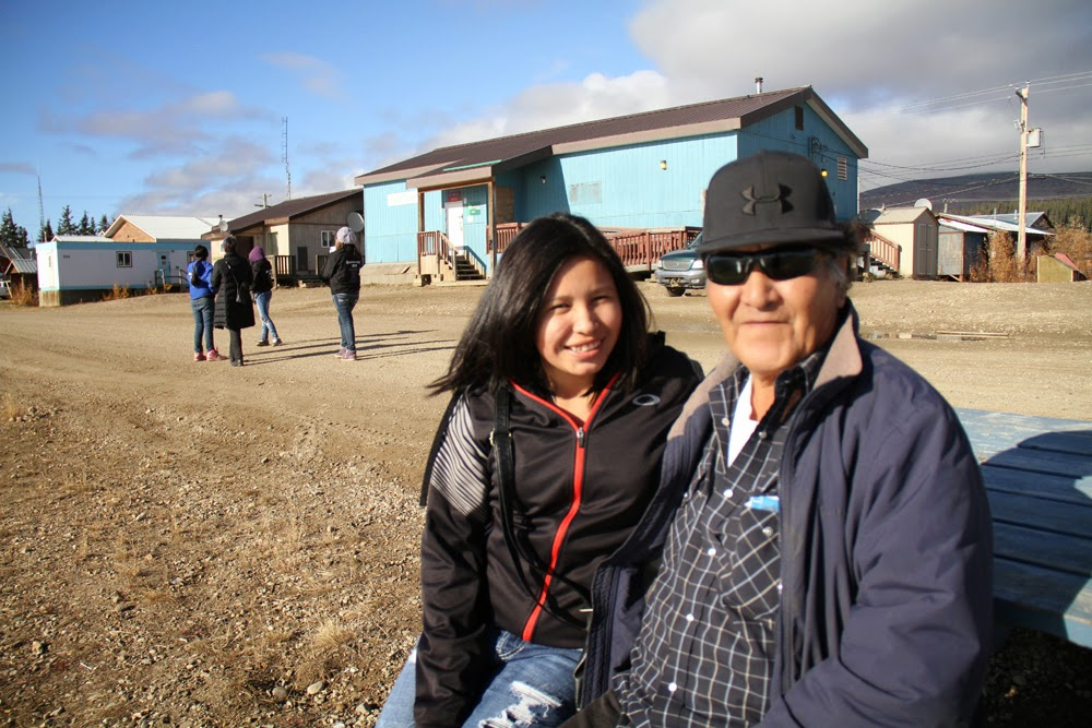 Joel Peter is Percilla's uncle and will again help with translation on the project!