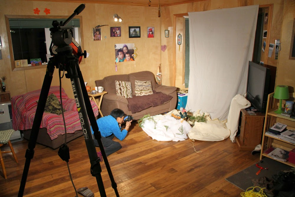 The animation set in Mary Jane's livingroom