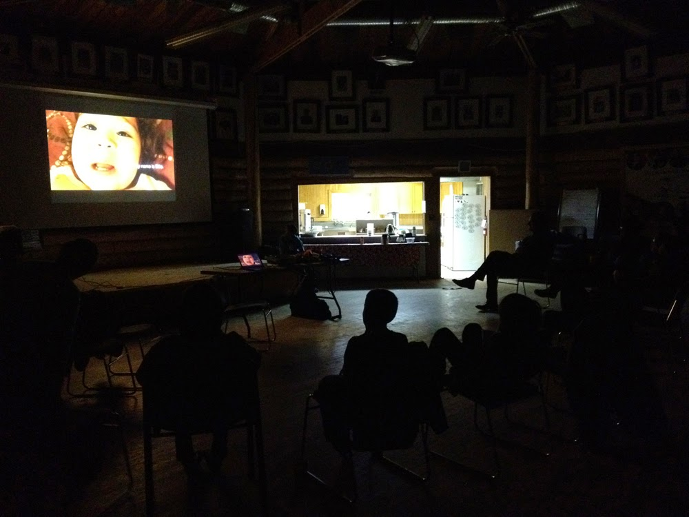 Traditional Teachings  is being projected!