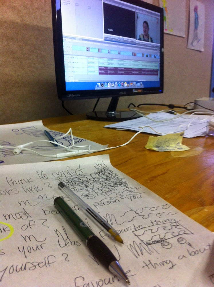 Notes and more notes assist in getting the story straight and make the editing process clearer!