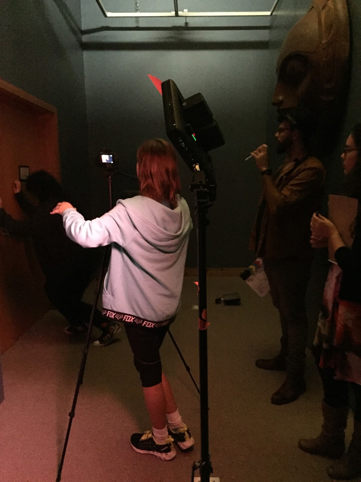 For the final scene of the night, Niccola finds out she is locked inside the museum