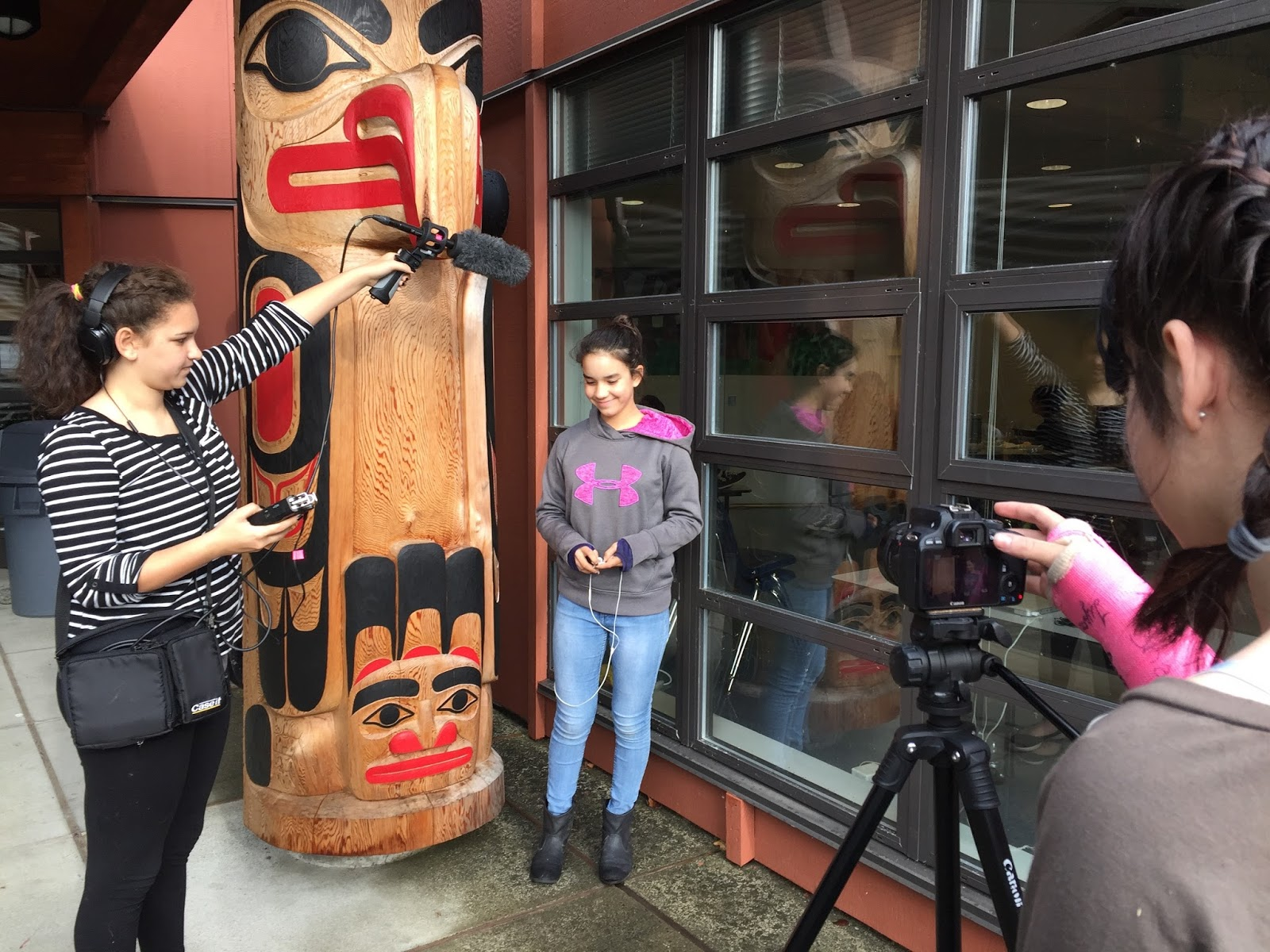 Xiila talks about her favourite Haida Traditional Story, one that her Dad told her