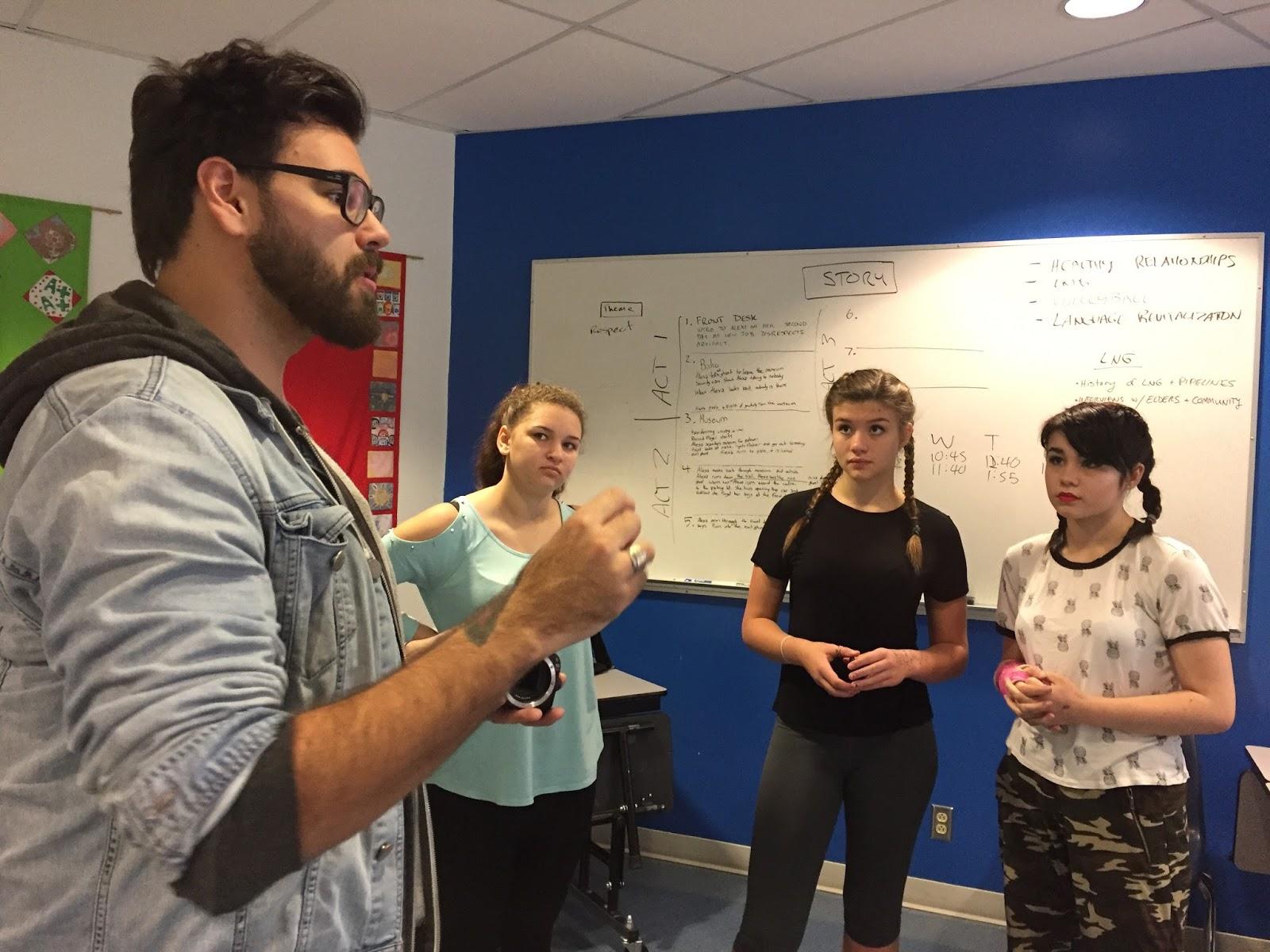 Mentor Patrick talks lenses