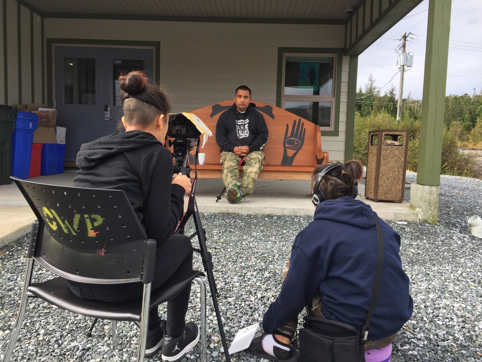 Elle and Latoya interview Russel about the affects of Residential Schools