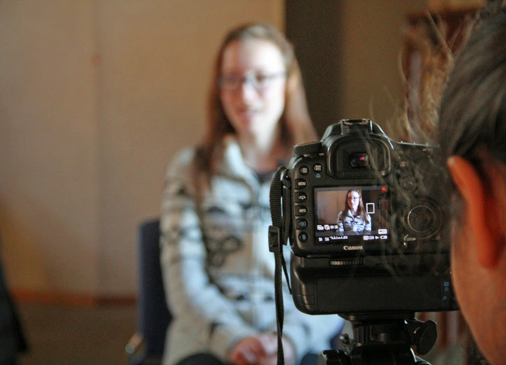 Zaya as interviewee