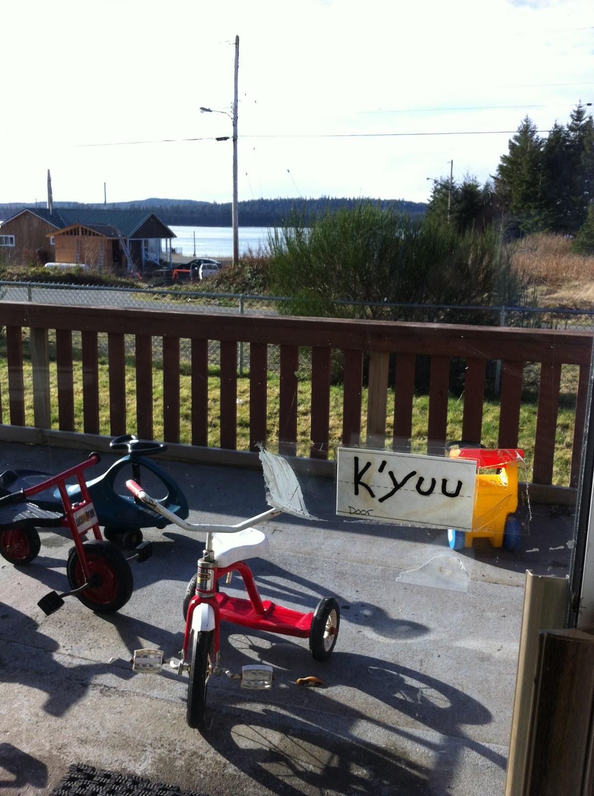 """A learning moment...Haida for """"door' = K'yuu!!"""