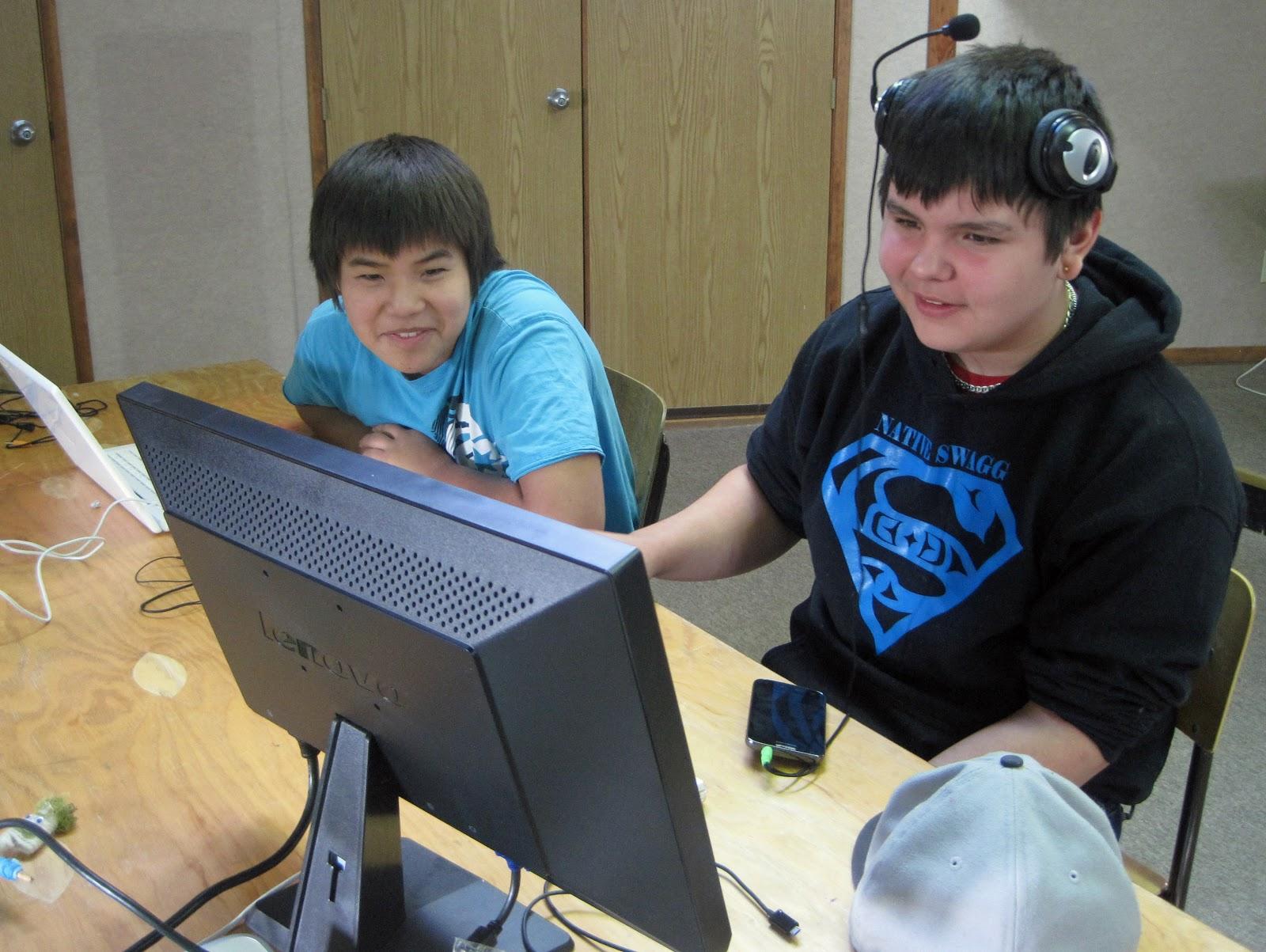 Dorian and Eli become photoshop machines!