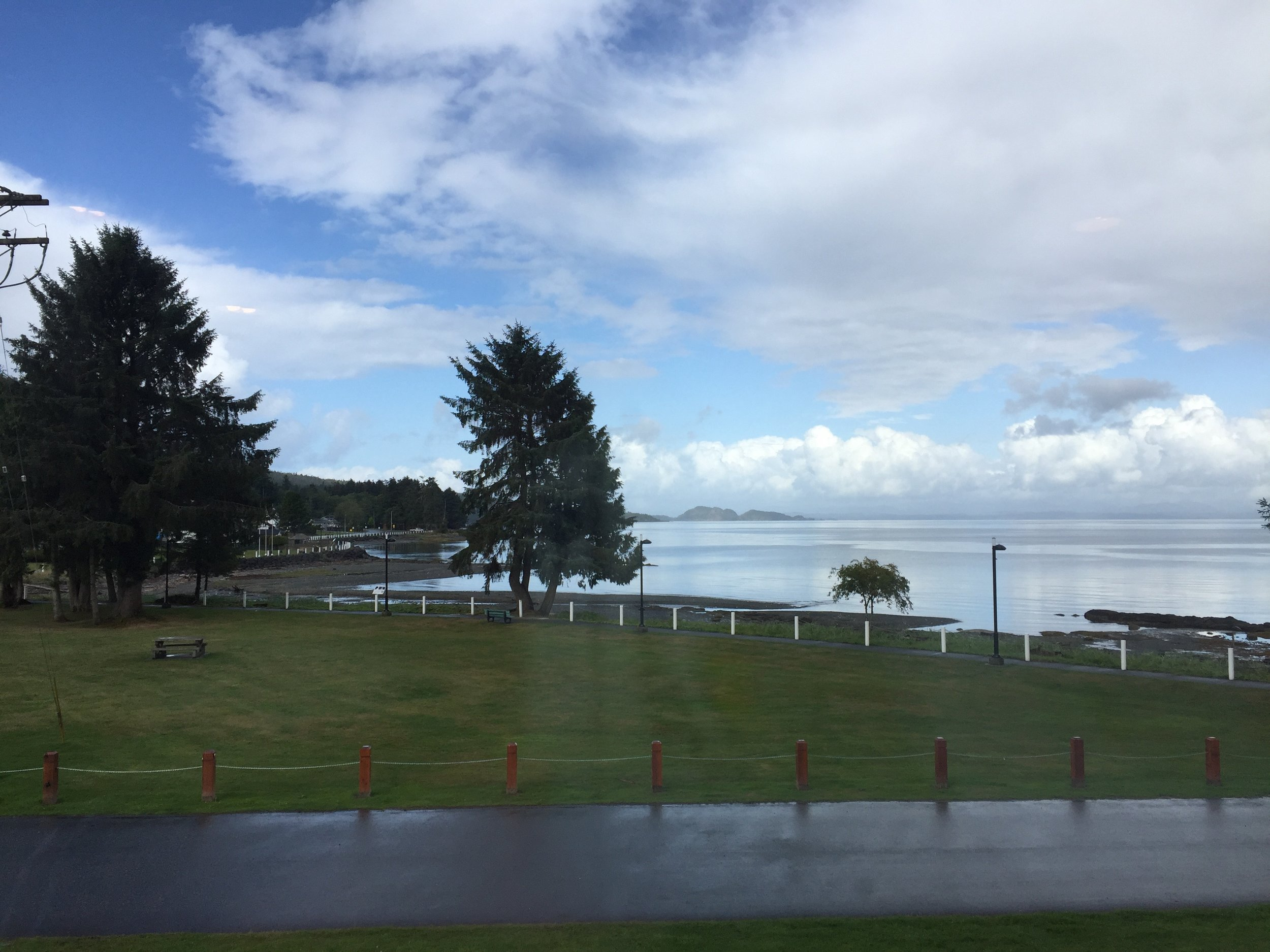Port Hardy view from the Pier Side Landing!