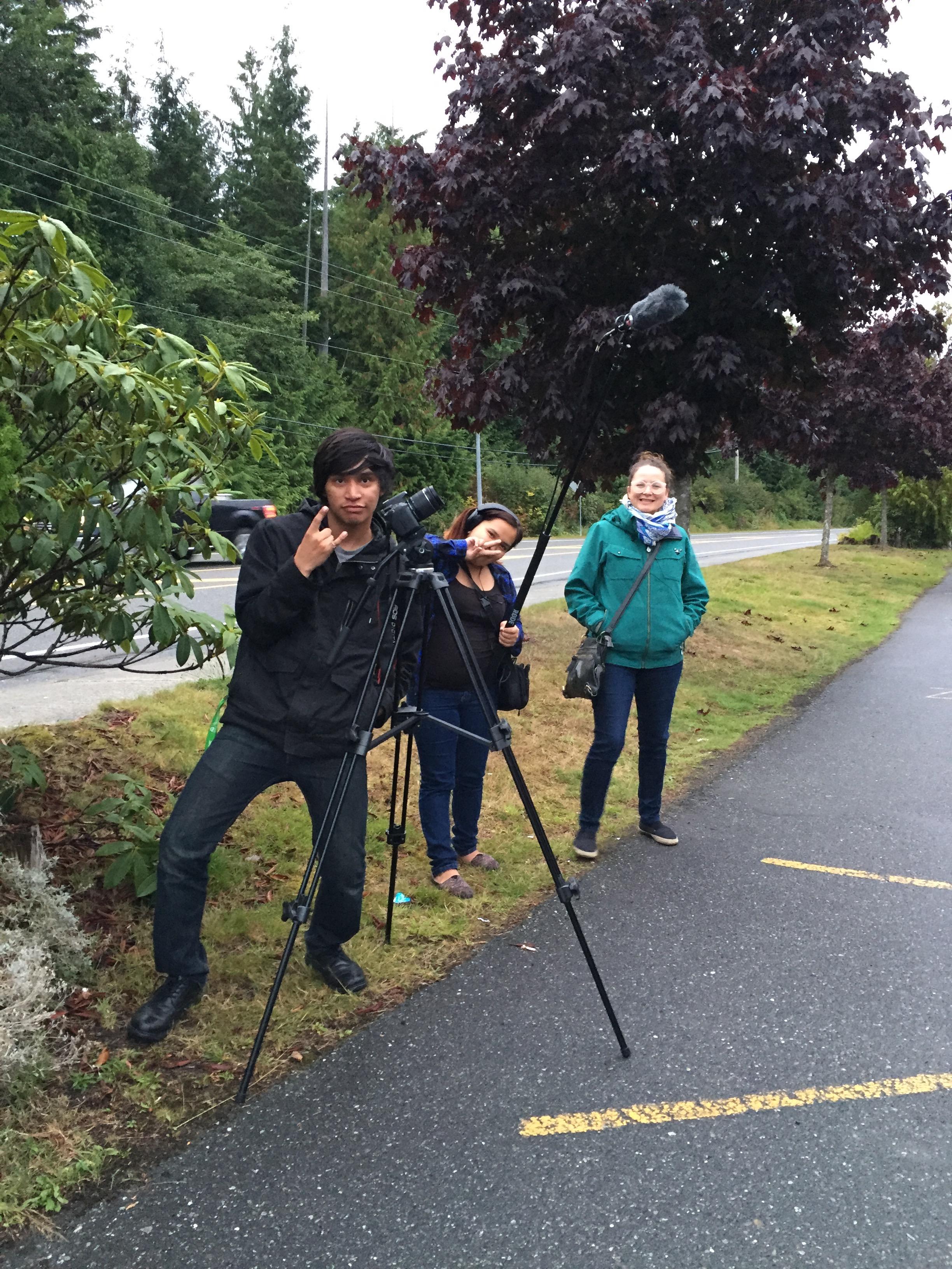 FUN film crew!