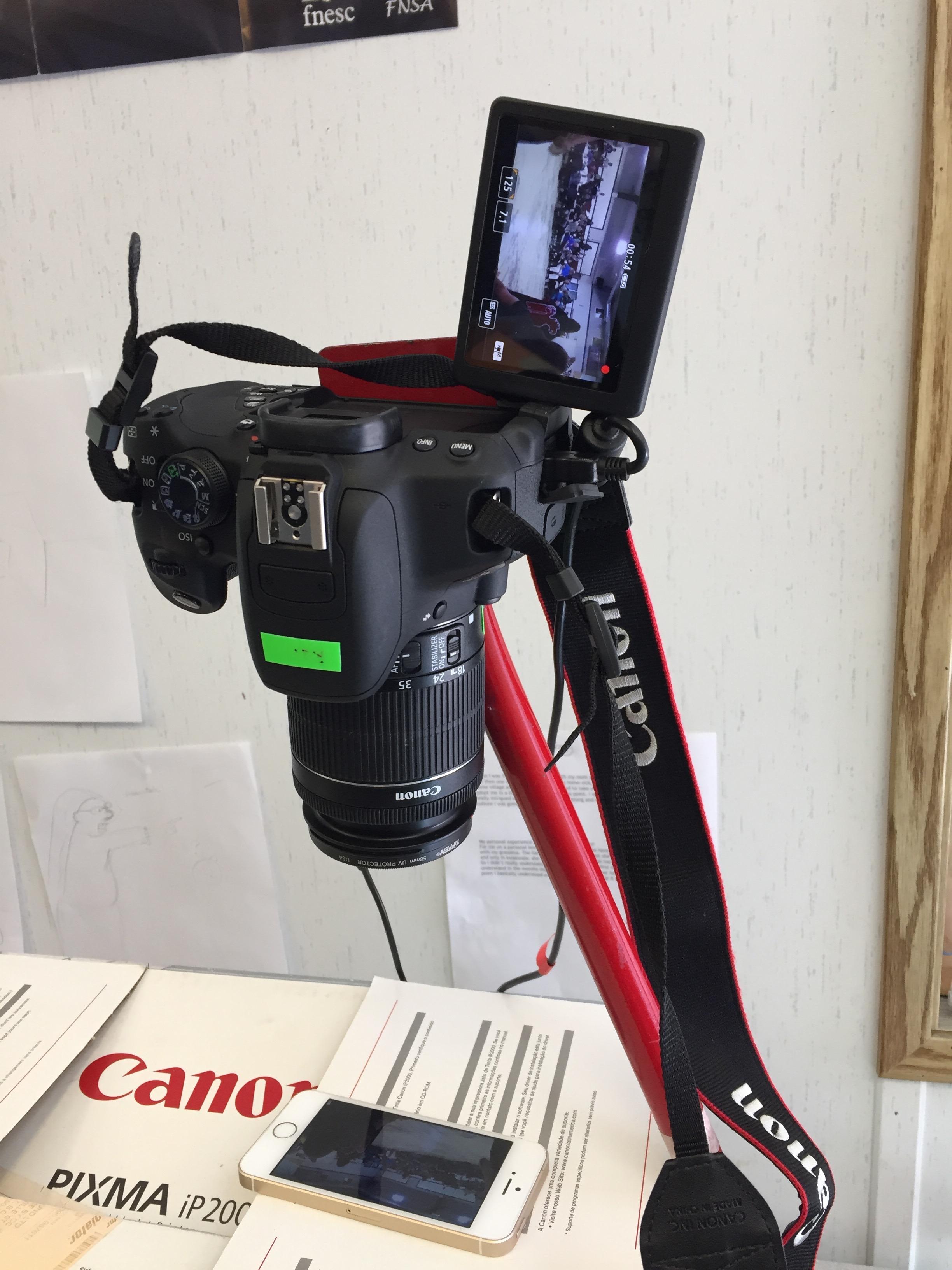 I phone video capture hack!